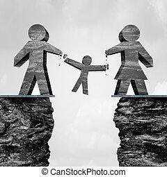 Losing Custody - Losing custody as a divorce trial...