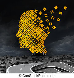 Losing Guidance - losing guidance brain disease with memory...