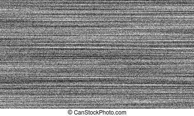 Loss Signal Noise 4 - TV Noise - regular old cathode-ray...