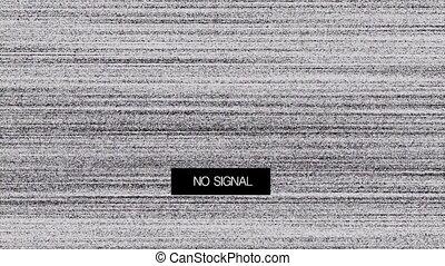Loss Signal Noise 7 - TV Noise - regular old cathode-ray...