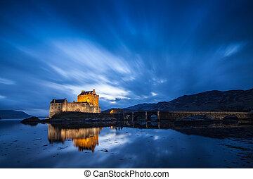 Lost castle in Scotland