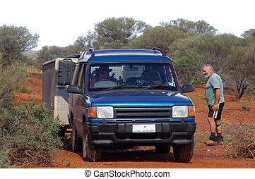Lost in the Australian bush