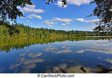 Lost Lagoon Stanley Park, Vancouver, British Columbia, Canada