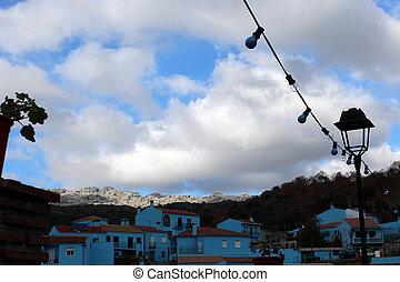 Lost spanish village