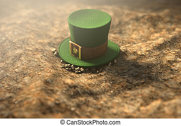 Lost Tiny Leprechaun Hat