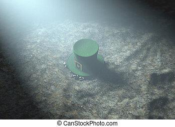 Lost Tiny Leprechaun Hat