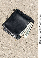 Lost wallet with money