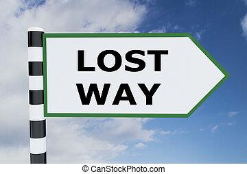 Lost Way concept