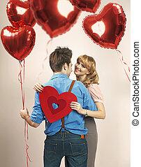 losy, balony, miłość, upadek