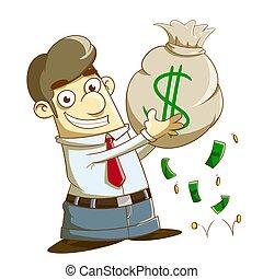 losy, pieniądze, zarobić