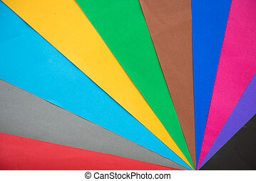 lot of color paper for crafts idea