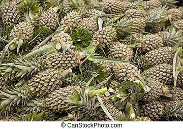 lot of pineapple