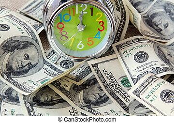 lot of U.S. dollars