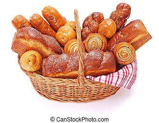Lotes, dulce, panadería, productos
