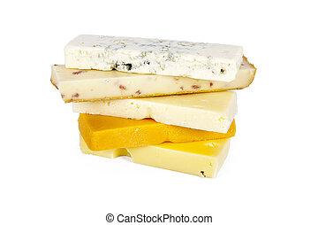 lotes, leiteria, natural, queijo