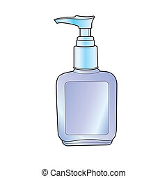 lotion or cream pump bottle