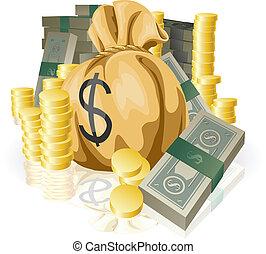 lotissements, argent