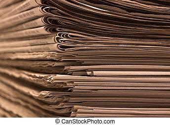 lotissements, journaux
