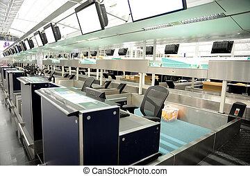 lotnisko, kantor