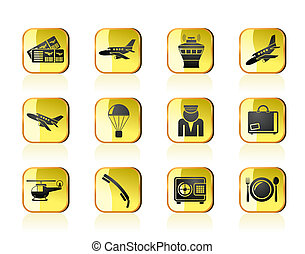 lotnisko, przebądźcie ikony