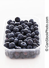Lots of blueberries - Picture of lots of blueberries in a...