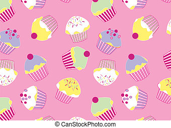 Lots of Cup cakes.