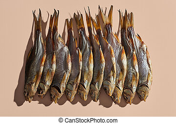 Lots of dried or jerky salty roach, palatable clipfish on ...