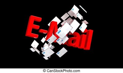 Lots of emails. Mail delivery. Important mail 40. - Lots of...