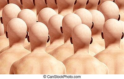 Lots Of Head Backs 2