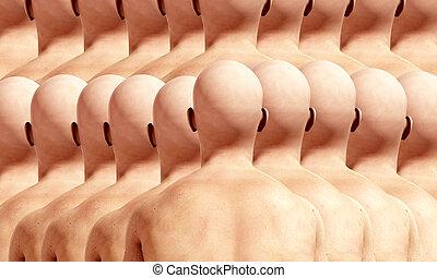 Lots Of Head Backs