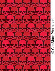 Lots of red skulls.