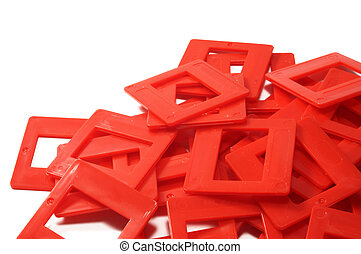 red slides frames