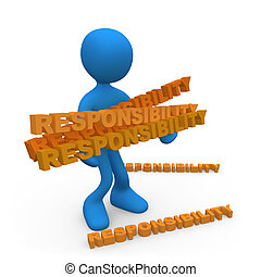Lots of responsibilities - Person with lots of ...