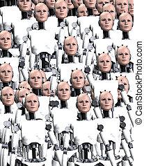 Lots Of Robot Women