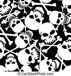 Lots of skulls.