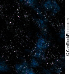 stars in outer space - lots of stars in outer space with ...