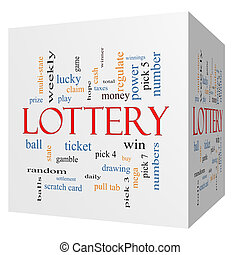 lotteri, 3, terning, glose, sky, begreb
