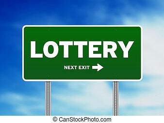 lotteria, segno strada