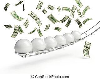 lottery ball dollars