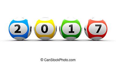 Lottery balls 2017