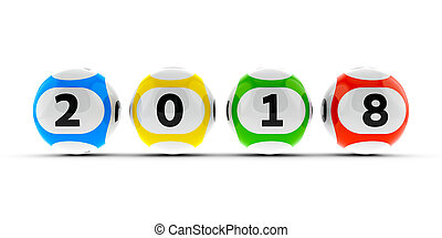 Lottery balls 2018 #2