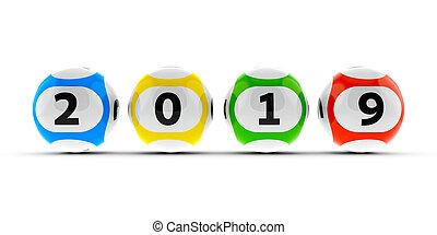 Lottery balls 2019 #2