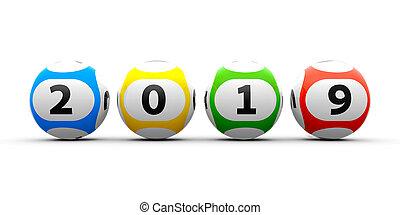 Lottery balls 2019