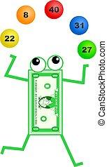 lottery dollar