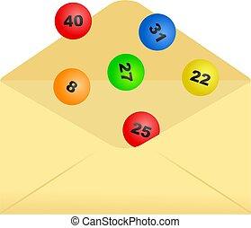 lottery envelope