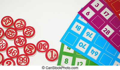 Lotto Bingo Tombala Gambling Game