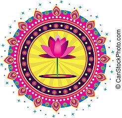 Lotus - Stock Vector Illustration: Lotus