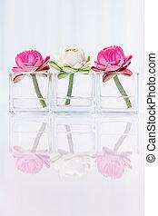 Lotus flower decoration