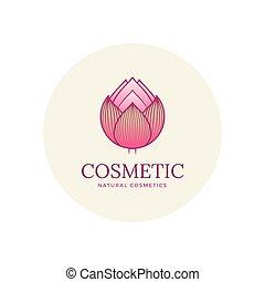 Lotus flower emblem