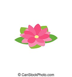 Lotus flower shape in 3d 4 colors included vector graphics mightylinksfo